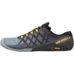 Merrell VAPOR GLOVE 3 Obuwie do biegania neutralne dark grey. Szare buty do biegania męskie Merrell, z materiału. Za 409,00 zł.