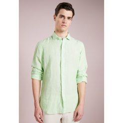 Polo Ralph Lauren SPREAD Koszula lime/white. Szare koszule męskie marki Polo Ralph Lauren, l, z bawełny, button down, z długim rękawem. W wyprzedaży za 356,85 zł.