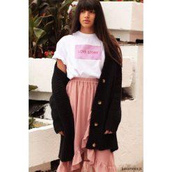 Tshirt Love Story by elevenstory PINK. Różowe t-shirty damskie Pakamera, z bawełny. Za 99,00 zł.
