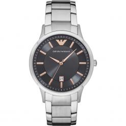 Zegarek EMPORIO ARMANI - Renato AR2514  Silver/Silver. Szare zegarki męskie Emporio Armani. Za 1059,00 zł.