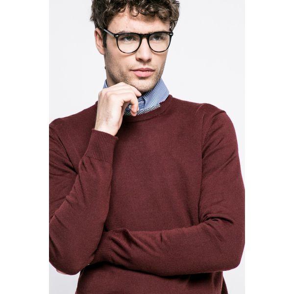 Trussardi Jeans - Sweter. Czarne bez kategorii marki Trussardi Jeans, z jeansu, na obcasie. W wyprzedaży za 219,90 zł.