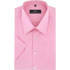 Koszula FABIO 16-04-25-K. Niebieskie koszule męskie na spinki marki bonprix, m, z nadrukiem, z klasycznym kołnierzykiem, z długim rękawem. Za 149,00 zł.
