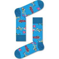Happy Socks - Skarpety. Niebieskie skarpetki męskie Happy Socks. Za 39,90 zł.