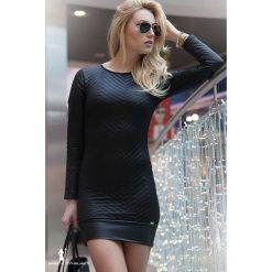 Czarna Sukienka F770. Czarne sukienki marki Fasardi, m. Za 69,00 zł.