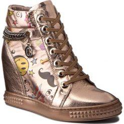 Sneakersy CARINII - B3028/F J40-K15-000-B88. Czerwone sneakersy damskie marki Carinii, z materiału. W wyprzedaży za 229,00 zł.