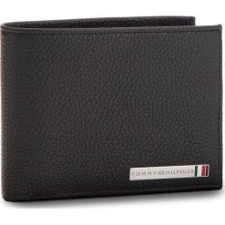 Duży Portfel Męski TOMMY HILFIGER - Th Plaque Extra Cc A AM0AM03636  002. Czarne portfele męskie marki TOMMY HILFIGER, ze skóry. W wyprzedaży za 279,00 zł.