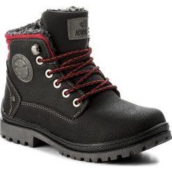 Buty zimowe chłopięce: Trapery ACTION BOY – CP40-6950J Czarny