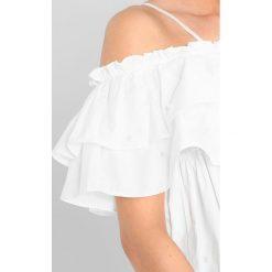 Bluzki, topy, tuniki: Navy London CARMEN Bluzka white