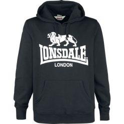 Bejsbolówki męskie: Lonsdale London Gosport 2 Bluza z kapturem czarny