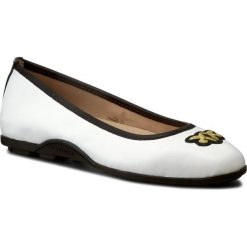 Baleriny PINKO - Esquimese PE17 BLKS1 1H20A2 Y3B2 White Z04. Białe baleriny damskie marki Pinko, ze skóry. W wyprzedaży za 509,00 zł.