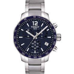 RABAT ZEGAREK TISSOT T- SPORT T095.417.11.047.00. Niebieskie zegarki męskie TISSOT, ze stali. W wyprzedaży za 1434,40 zł.