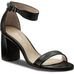 Rzymianki damskie: Sandały STUART WEITZMAN - Partlynude XL92912 Black Nappa