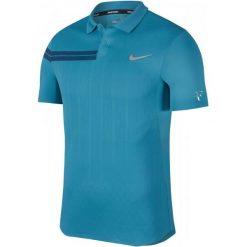 Nike Męska Koszulka Sportowa Z Kołnierzem Rf M Nkct Adv Polo Ps Neo Turq Metallic Silver L. Szare koszulki do fitnessu męskie Nike, m. Za 329,00 zł.