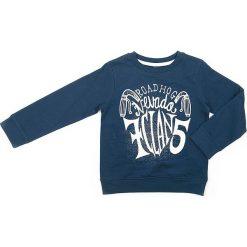 Bluza w kolorze granatowym. Niebieskie bluzy chłopięce marki Street Monkey, z bawełny. W wyprzedaży za 49,95 zł.