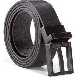 Pasek Męski CALVIN KLEIN - Monochrome Adj Buck K50K503423 100 001. Czarne paski męskie Calvin Klein, w paski, ze skóry. W wyprzedaży za 209,00 zł.