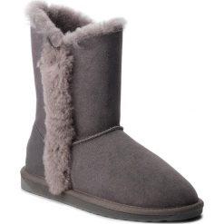Buty EMU AUSTRALIA - Kolora Lo W11903 Charcoal. Szare buty zimowe damskie marki EMU Australia, z gumy. Za 649,00 zł.