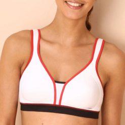 Biustonosze sportowe: Biustonosz sportowy w kształcie koszulki firmy TRIUMPH