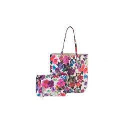 Torebki klasyczne damskie: torebka damska w kwiaty