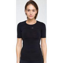 T-shirty damskie: Koszulka treningowa damska TSDF115 – czarny – 4F