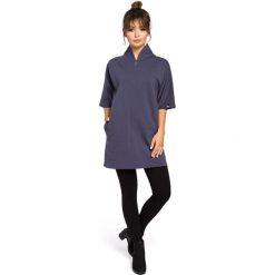 CASPER Tunika kimono - niebieska. Niebieskie tuniki damskie marki ARTENGO, z elastanu, ze stójką. Za 179,90 zł.