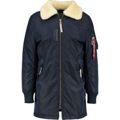 Alpha Industries INJECTOR Płaszcz zimowy rep blue. Niebieskie płaszcze zimowe męskie marki Alpha Industries, m, z materiału. Za 929,00 zł.