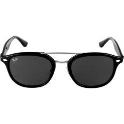 RayBan Okulary przeciwsłoneczne black. Czarne okulary przeciwsłoneczne damskie aviatory Ray-Ban. Za 639,00 zł.
