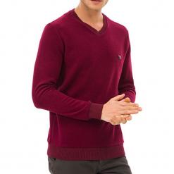Sweter w kolorze czerwonym. Czerwone swetry klasyczne męskie GALVANNI, l. W wyprzedaży za 159,95 zł.