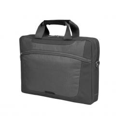 """Sumdex PON-318GP-1 15""""-16"""" szara. Szare torby na laptopa marki Sumdex, w paski. Za 79,90 zł."""
