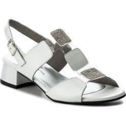 Rzymianki damskie: Sandały BRENDA ZARO – T2046 Blanco