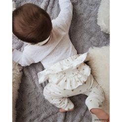Spodnie niemowlęce: SPODNIE z falbanką MY HEARTS
