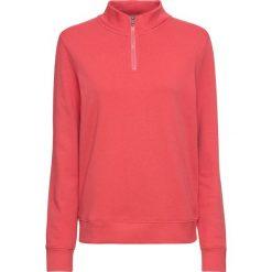 Bluza z zamkiem, długi rękaw bonprix jasny koralowy. Czerwone bluzy rozpinane damskie bonprix, z długim rękawem, długie. Za 54,99 zł.