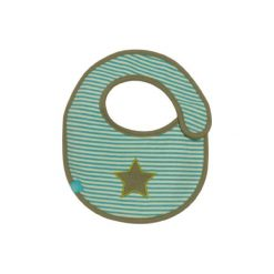Lässig  Śliniaczek Starlight Oliv - zielony. Zielone śliniaki Lässig, z bawełny. Za 21,00 zł.
