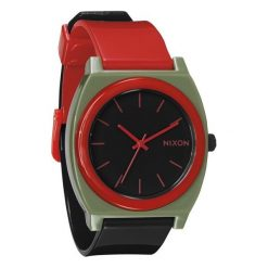 Zegarki męskie: Zegarek unisex Surplus Black Red Nixon Time Teller P A1192048