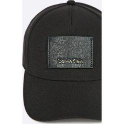 Calvin Klein Jeans - Czapka. Szare czapki z daszkiem męskie marki Calvin Klein Jeans, z bawełny. W wyprzedaży za 159,90 zł.