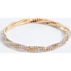 Bransoletki damskie: Elegancka bransoletka - Złoty