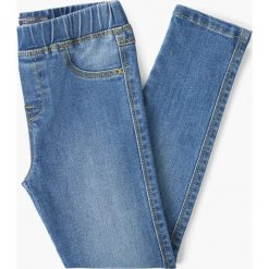 Rurki dziewczęce: Mango Kids - Jeansy dziecięce Rosannah 110 cm