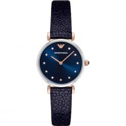 Zegarek EMPORIO ARMANI - Gianni T-Bar AR1989 Blue/Silver. Niebieskie zegarki damskie marki Emporio Armani. Za 1059,00 zł.