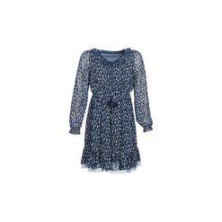 Sukienki krótkie Molly Bracken  POLIAS. Niebieskie sukienki mini marki Molly Bracken, s, z krótkim rękawem. Za 219,00 zł.