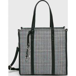 Answear - Torebka. Szare torebki klasyczne damskie ANSWEAR, z materiału, średnie. W wyprzedaży za 119,90 zł.