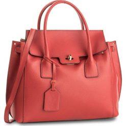 Torebka CREOLE - K10458  Czerwony. Czerwone torebki klasyczne damskie Creole, ze skóry, duże. W wyprzedaży za 239,00 zł.