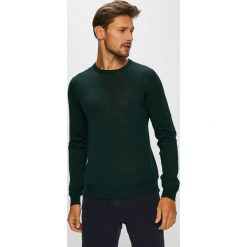 G-Star Raw - Sweter. Czarne swetry klasyczne męskie G-Star RAW, l, z dzianiny, z okrągłym kołnierzem. W wyprzedaży za 349,90 zł.