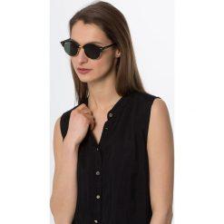 RayBan CLUBROUND Okulary przeciwsłoneczne black. Czarne okulary przeciwsłoneczne damskie lenonki Ray-Ban. Za 599,00 zł.