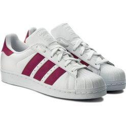 Buciki niemowlęce chłopięce: Adidas Buty dziecięce Superstar J białe r. 35.5 (CQ2690)