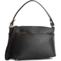 Torebka CREOLE - K10495 Czarny. Czarne torebki klasyczne damskie marki Creole, ze skóry, duże. W wyprzedaży za 159,00 zł.
