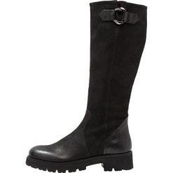 Buty zimowe damskie: SPM ANNA Kozaki na platformie black