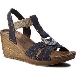 Rzymianki damskie: Sandały INBLU – OC02AQ10 Granatowy