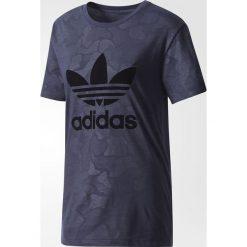Bluzki asymetryczne: Adidas Koszulka damska Boyfriend Treofil granatowa r. 36 (BS4272)