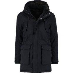 Burton Menswear London NEVIS Parka black. Czarne parki męskie Burton Menswear London, m, z materiału. W wyprzedaży za 367,20 zł.