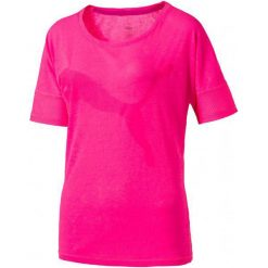 Puma Koszulka Sportowa Loose Tee Knockout Pink L. Różowe bluzki sportowe damskie marki Puma, l, ze skóry. W wyprzedaży za 119,00 zł.