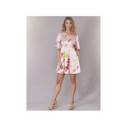 Sukienki krótkie Vero Moda  VMJESSICA. Czerwone sukienki mini Vero Moda, l, z krótkim rękawem. Za 127,20 zł.